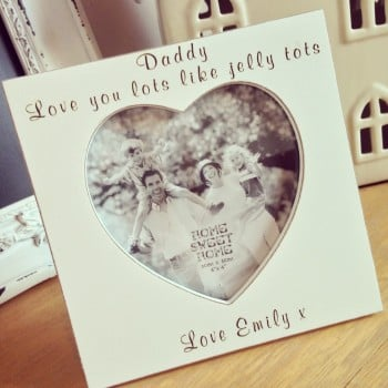 Love You Lots Like Jelly Tots Frame