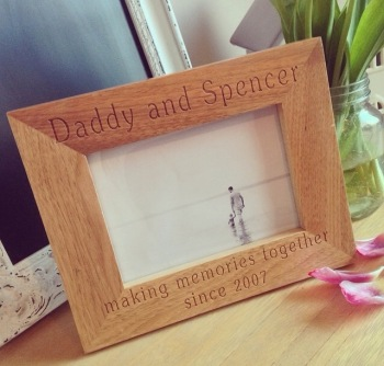 Me & Daddy Memories Frame