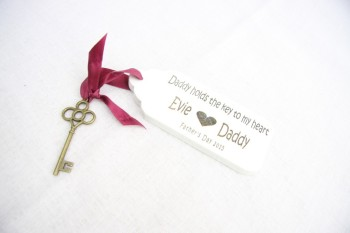 Key To My Heart Vintage Key