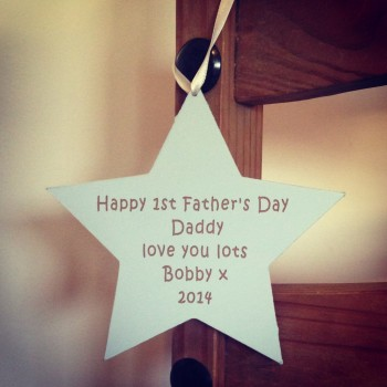 First Father's Day Star