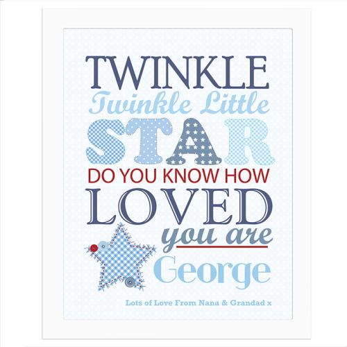 Twinkle Twinkle Boys Poster