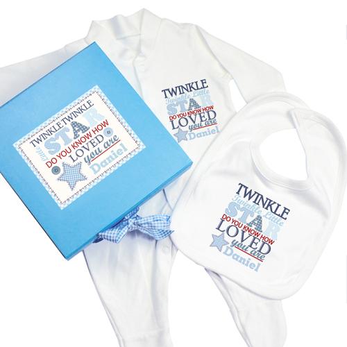 Twinkle Twinkle Boys Gift Set
