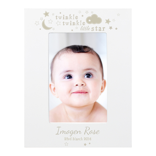Twinkle Twinkle Wooden Picture Frame