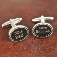 Vintage Style Dad Cufflinks