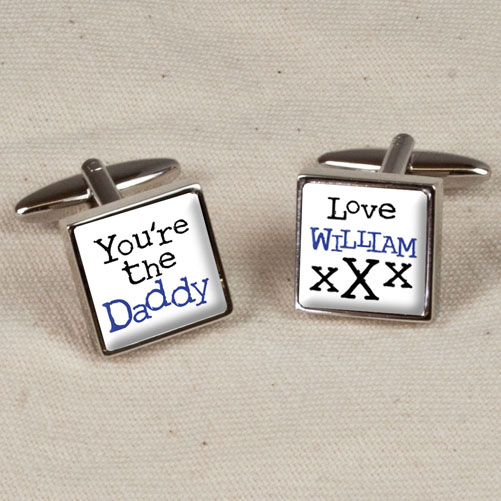 You're The Daddy Cufflinks