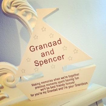 Grandad Freestanding Boat
