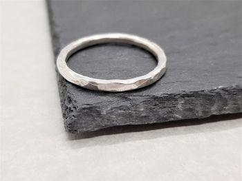Ring - Sterling Silver - Stacking Ring - Slim Round Ring Spacer or Midi Ring - Size C 1/2