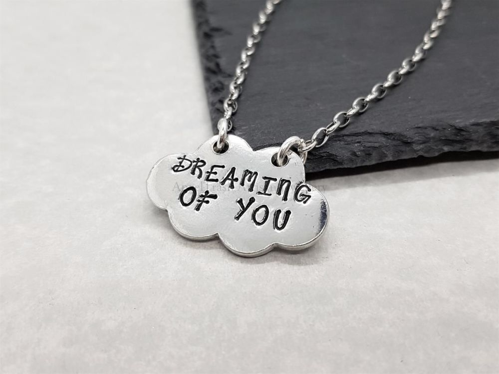 Pewter Dreaming of you Pendant