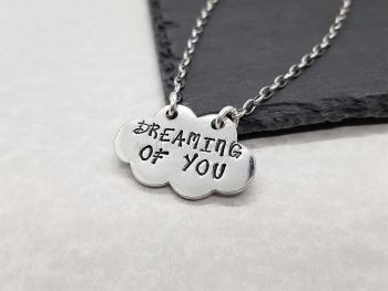 Necklace - Pewter - Dreaming of you Pendant