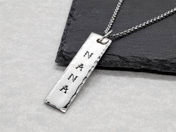 Necklace - Pewter - Nana Pendant