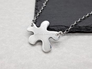 Necklace - Pewter - Splash or Splat Pendant
