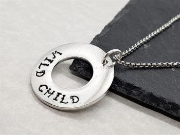 Necklace - Pewter - Wild Child