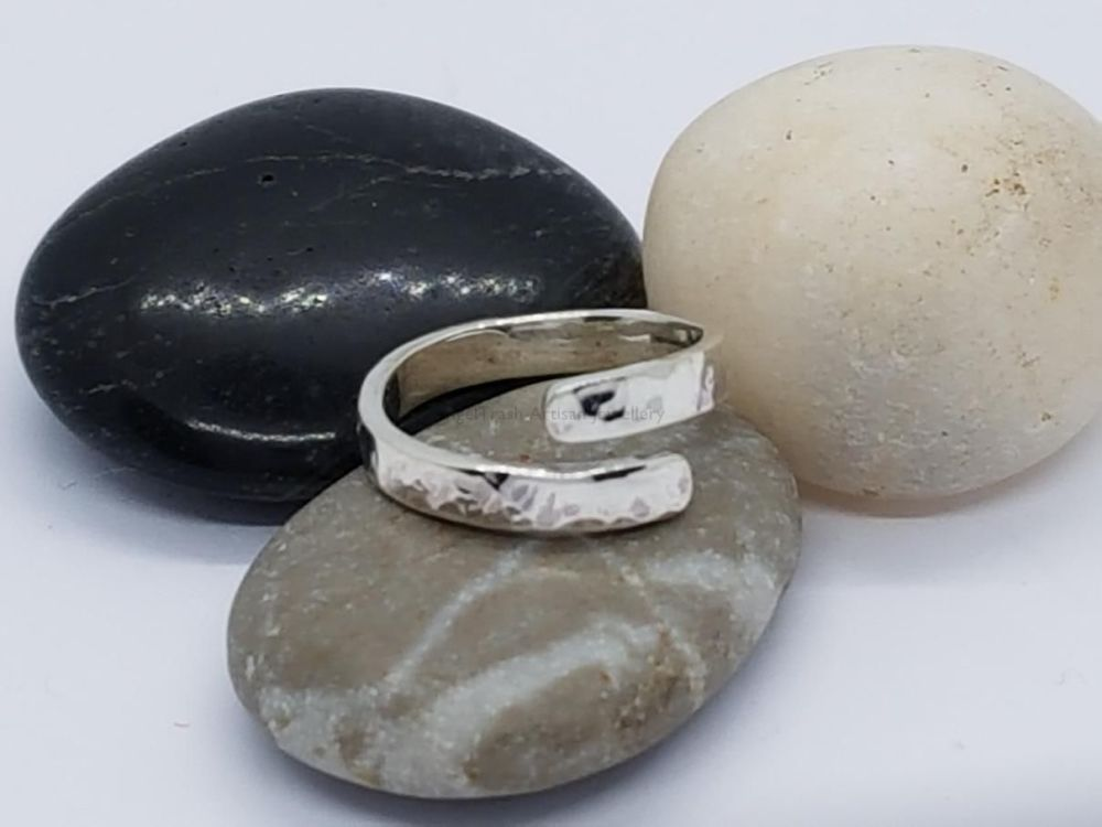 Sterling Silver Ring - Encircle Wrap Ring