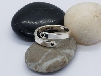 Ring - Sterling Silver - Encircle Wrap Ring - I Will Love You Until The End