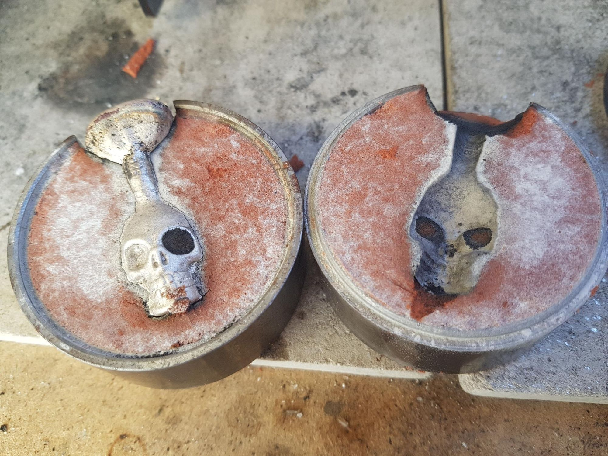 Sand Casting Silver