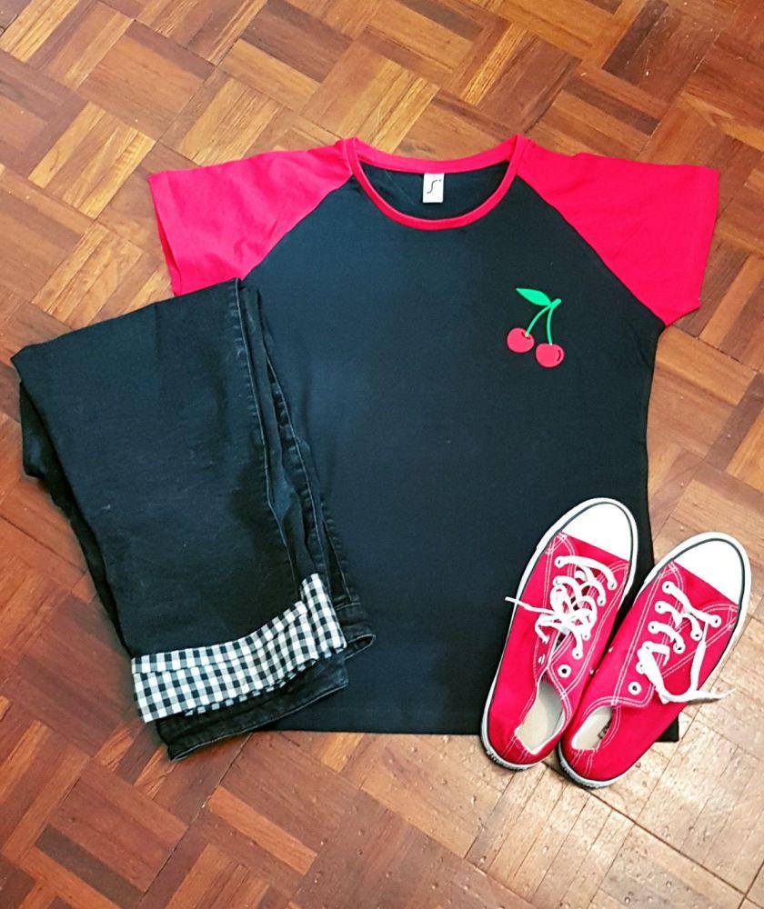 RockaCherry Ladies T Shirt
