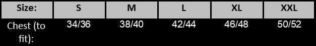 Seatshirt Size Chart