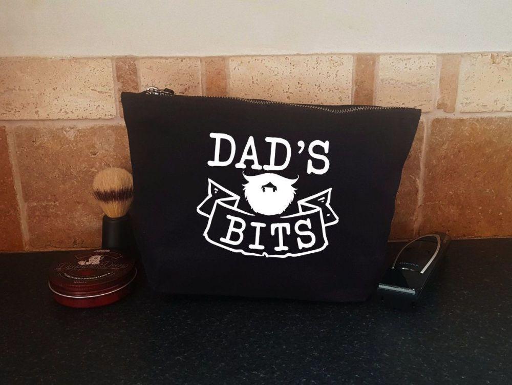 Men's Grooming Bag - Dad's Beard Bits