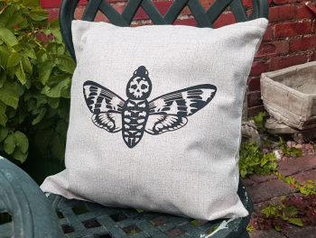 Cushion Cover - Death's Head Moth