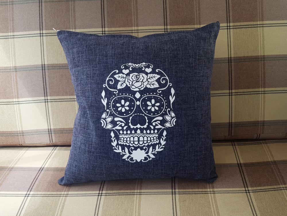 Cushion Cover - Sugar Skull