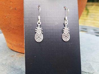 Earrings - Sterling Silver - Pineapple Earrings