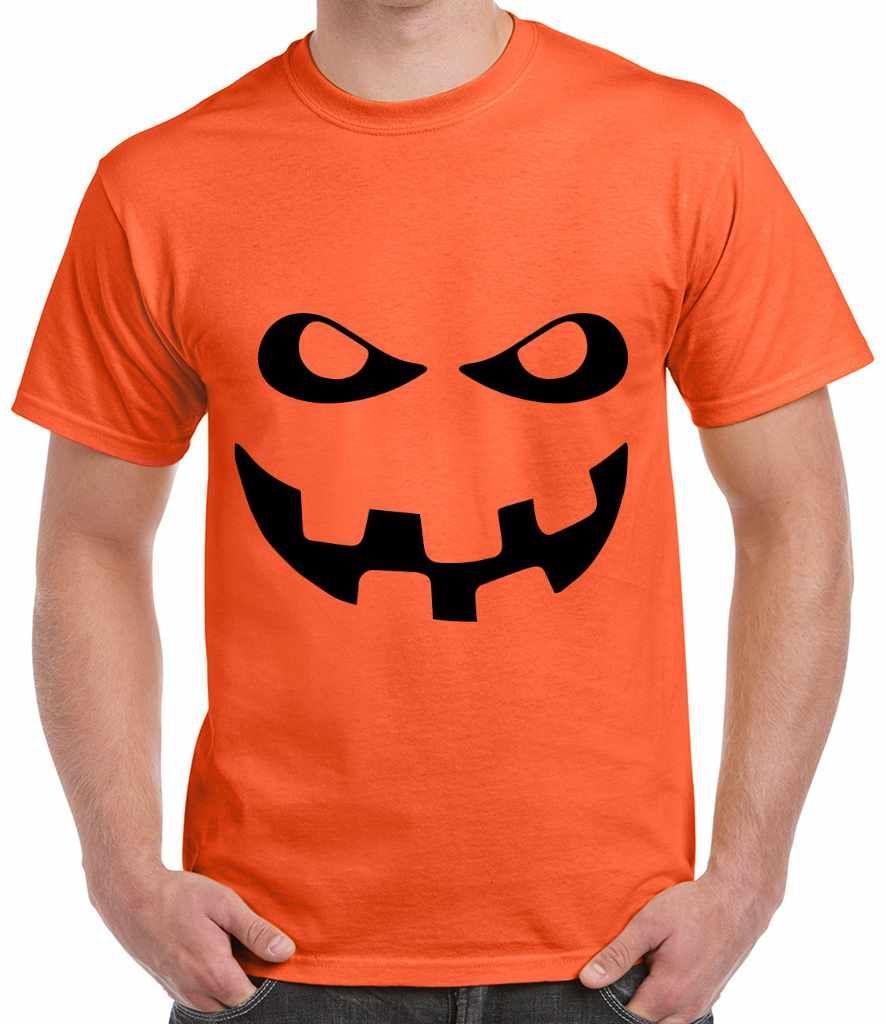 Unisex T Shirt - Pumpkin - Jack o Lantern