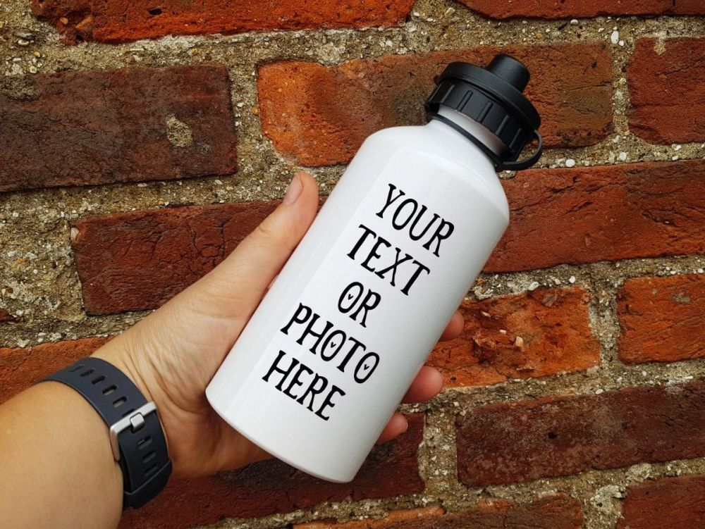 Water/Sports Bottle - Add your own photo or text