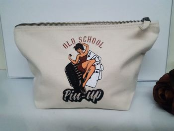 Accessory/Makeup Bag - Old School Pinup