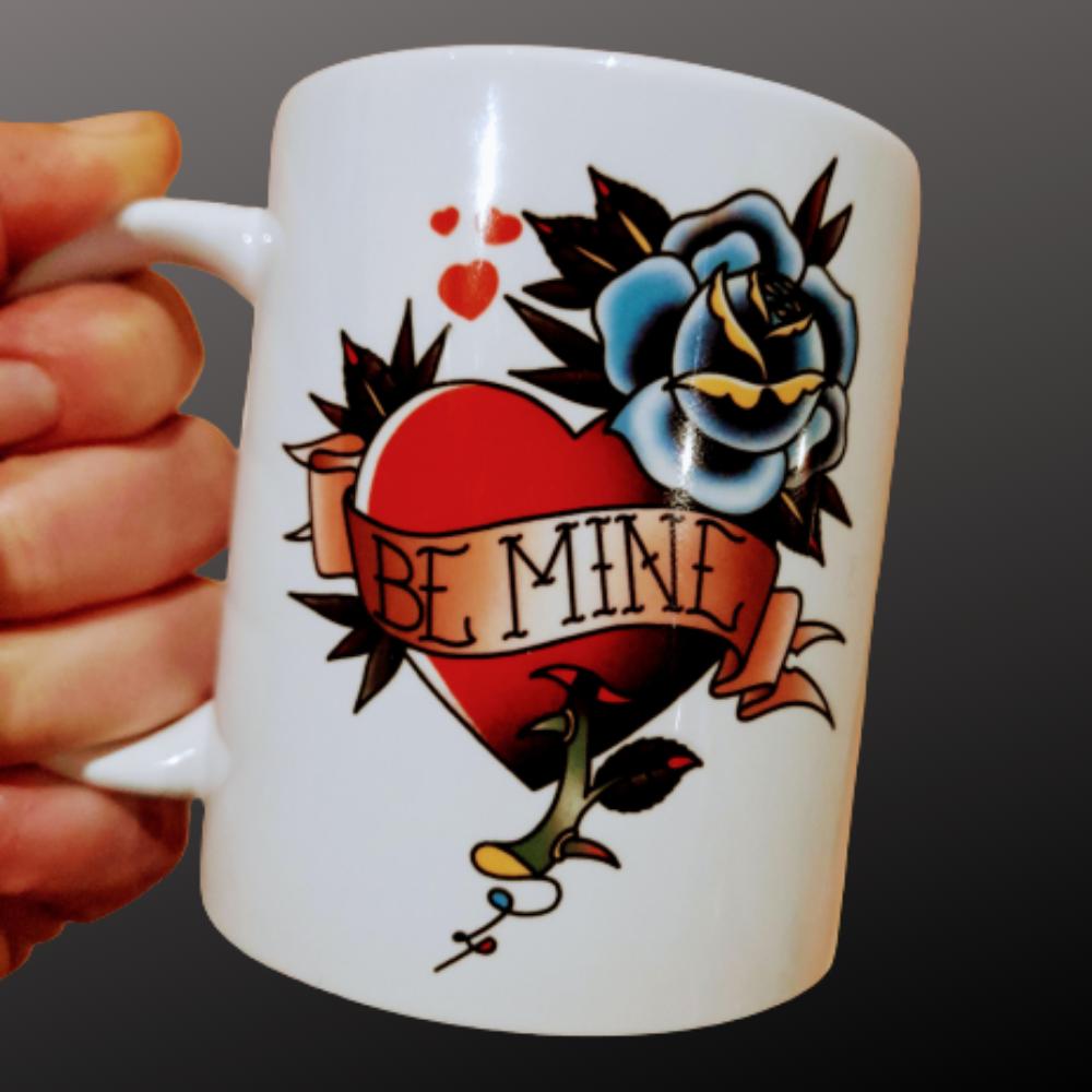 Mug - Tattoo Style Be Mine Mug