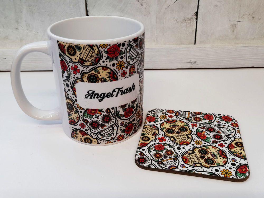 Mug - Personalised Day of the Dead Mug