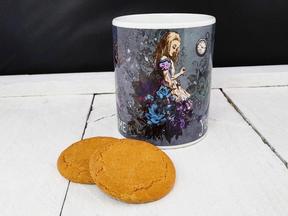 Mug - Personalised Dark Alice Mug