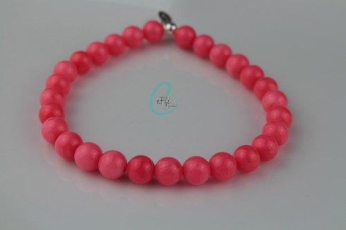 Chunky coral stretch bracelet | Chunky Coral Bracelet | CeFfi Jewellery