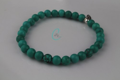 Chunky Turquoise stretch bracelet | Chunky Turquoise Stretch Bracelet|CeFfi