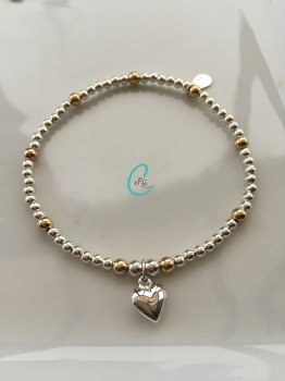 Touch of Gold Ball Bracelet