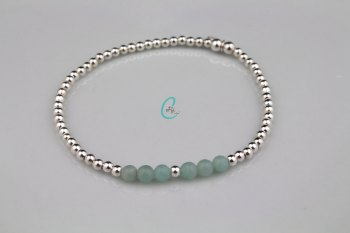 Amazonite Colour Pop Bracelet