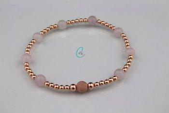 Sparkling Rosé Bracelet