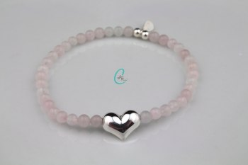 Summer Loving Bracelet - Rose Quartz