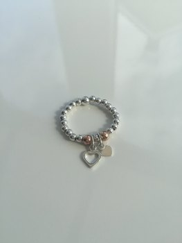 Rose Hearts Ring