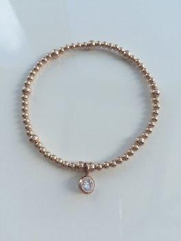 Rose Ball Bracelet
