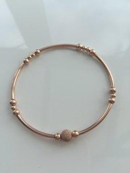 Rose Noodle Bracelet