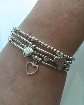 Dainty Heart Stack