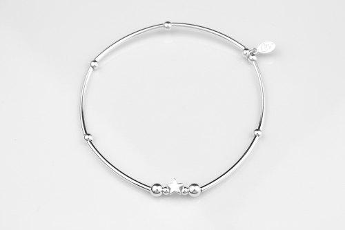 Dainty silver stretch bracelet | CeFfi