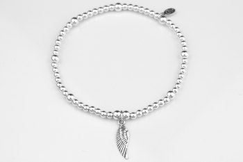 Ball Bracelet - Angel Wing