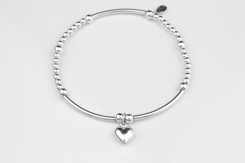 Boodle Bracelet - Puff Heart