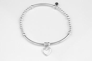 Boodle Bracelet - Open Heart