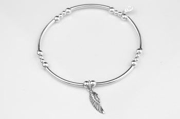 Noodle Bracelet - Angel Wing