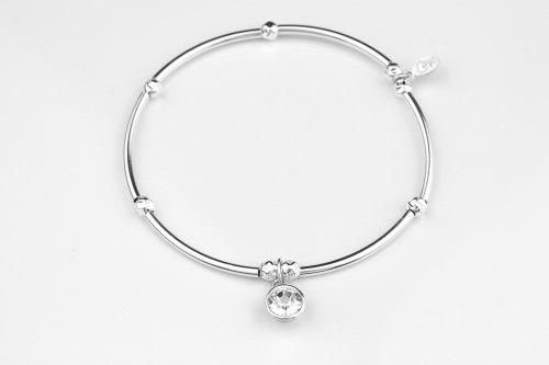 Silver cz stretch bracelet   CeFfi