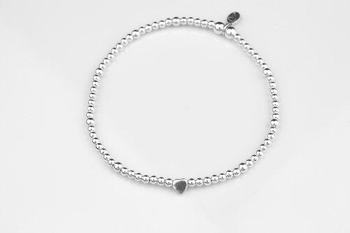 Dainty heart stretch bracelet | CeFfi
