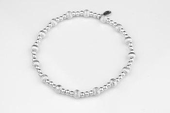 Grooved Stacker Bracelet