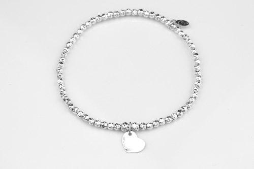 Hammered silver bracelet | CeFfi